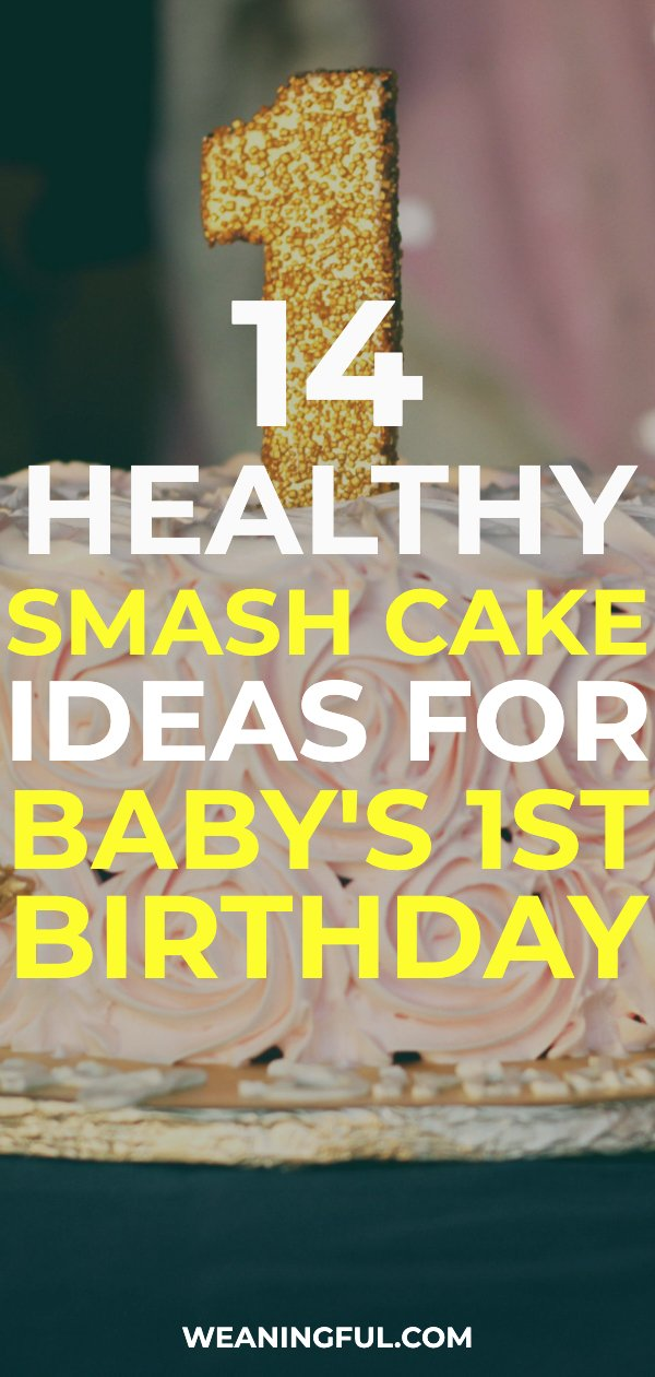 These smash cake recipes are not only healthy but perfect for baby led weaning and finger foods.