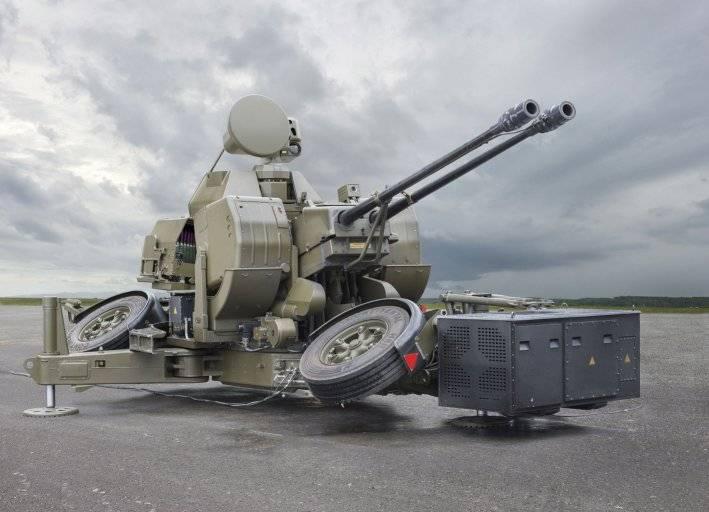 Image result for Oerlikon Twin Gun® GDF 009 TREO