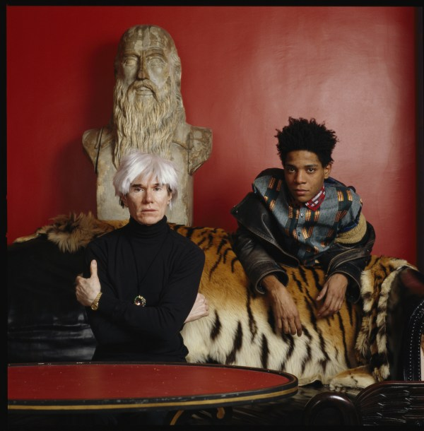 Andy Warhol and Basquiat