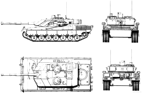 small resolution of  developed beginning in 1982 a half dozen prototypes were produced by 1984 and the ariete entered service in 1995 the italian army ordered 200