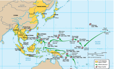 Island-Hopping and Leap-frogging, U.S. Strategies Part I ...