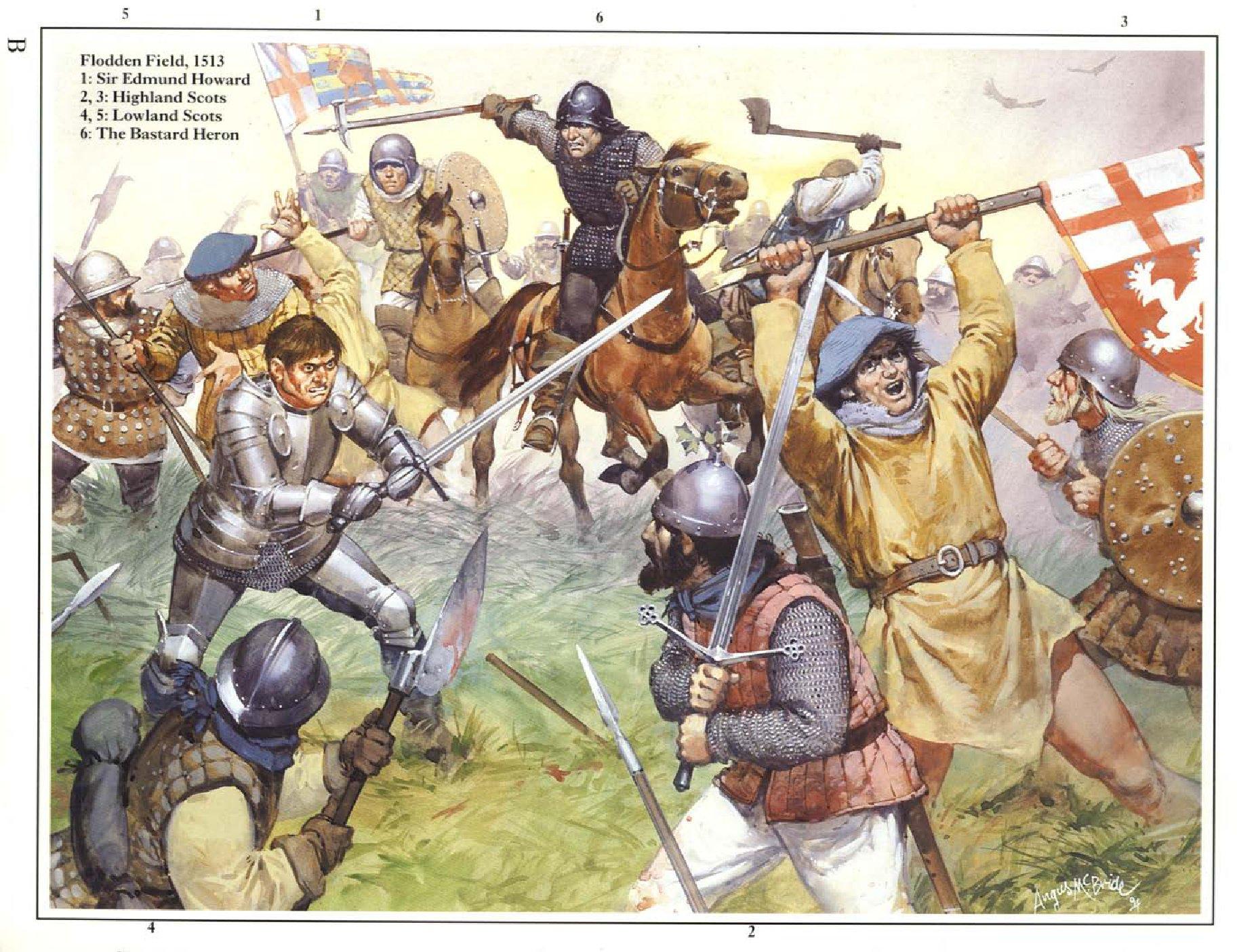 Flodden Field 1513 Twilight Of The English Longbow