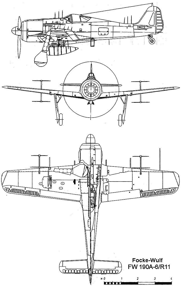 Focke-Wulf 190 A-6/R11