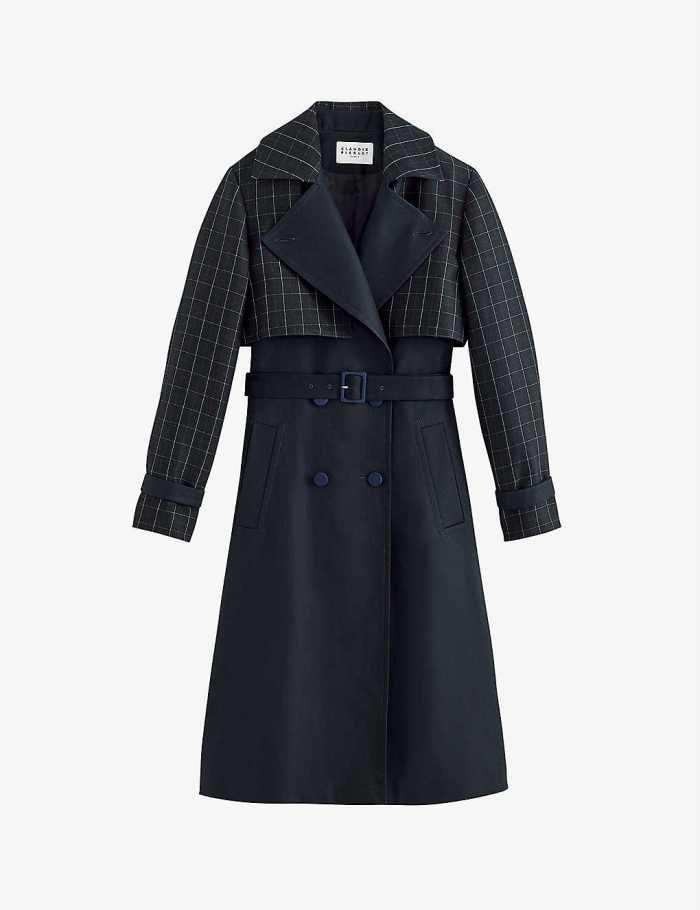 CLAUDIE PIERLOT Gardien double-breasted trench coat