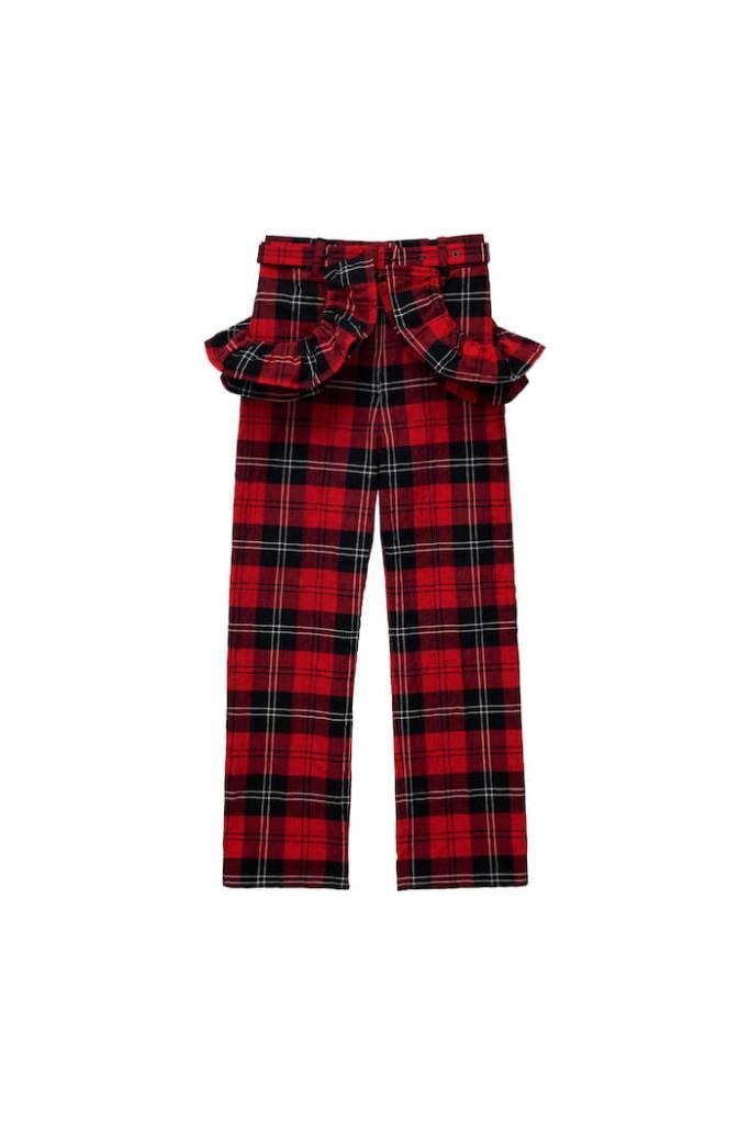 Cropped Flounce-trim Trousers, £79.99, Simone Rocha x H&M - buy now