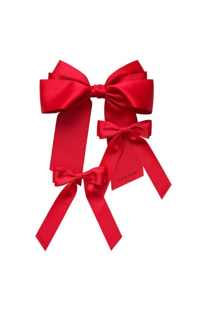 3-pack Bow Hair Slides, £24.99, Simone Rocha x H&M