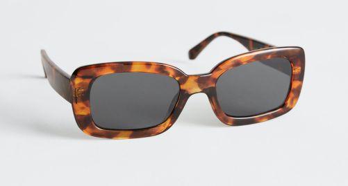 Rectangular Frame Sunglasses & other stories