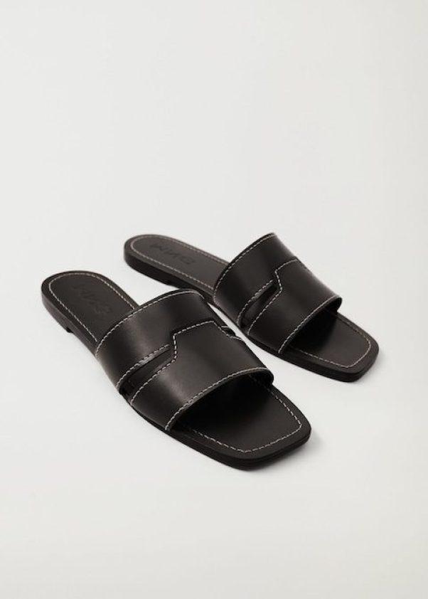 Leather Straps Sandals, £35.99, Mango