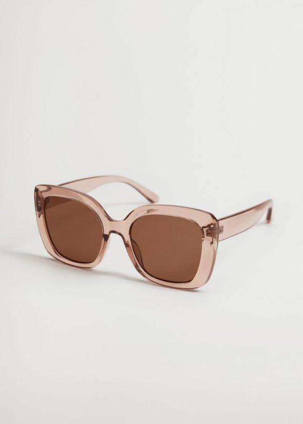 Clear Frame Sunglasses Mango