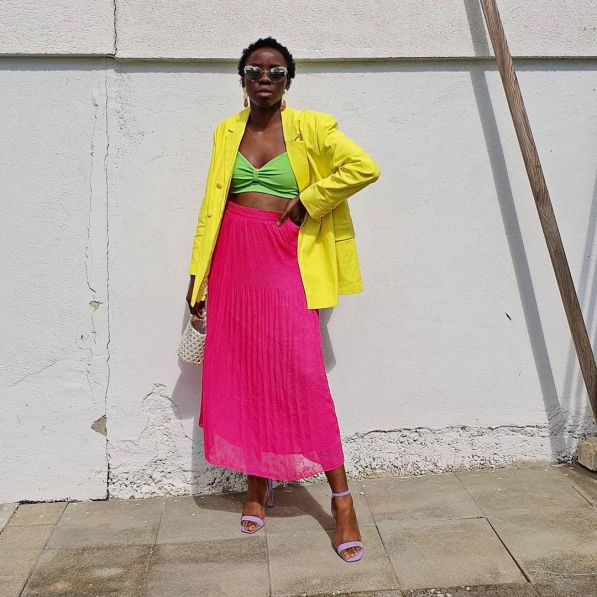 @thestyletapes wearing amazon fashion