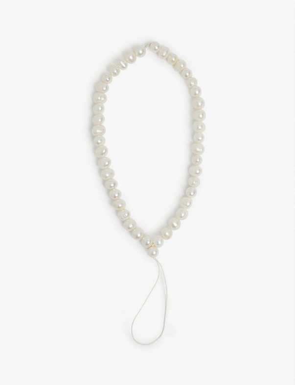 TALIS CHAINS Freshwater pearl phone wristlet
