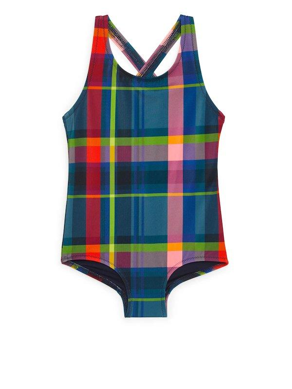 Arket checkered swimsuit