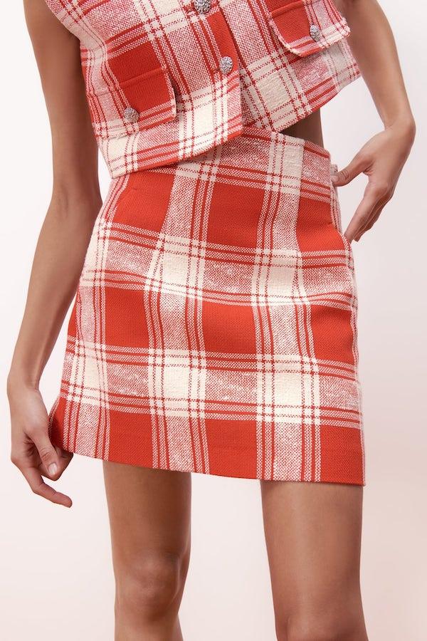 Zara Flared Mini Skirt