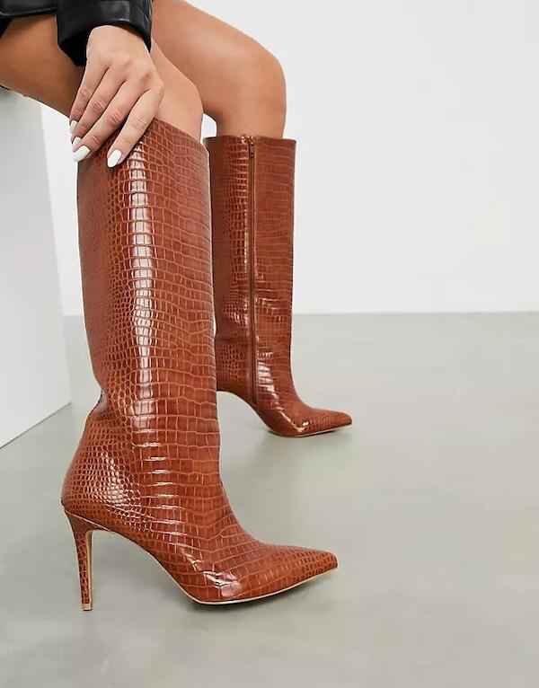 ASOS Claudia Knee High Boots