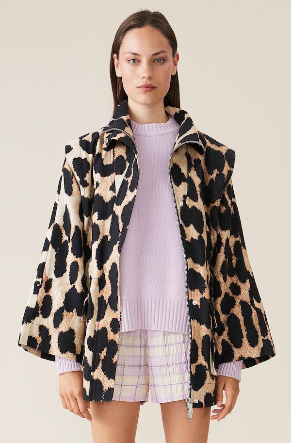 Ganni Linen Canvas Jacket