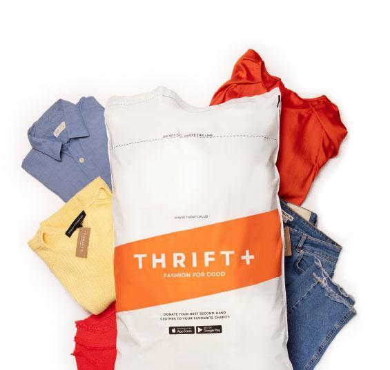 Thrift+ donate bag