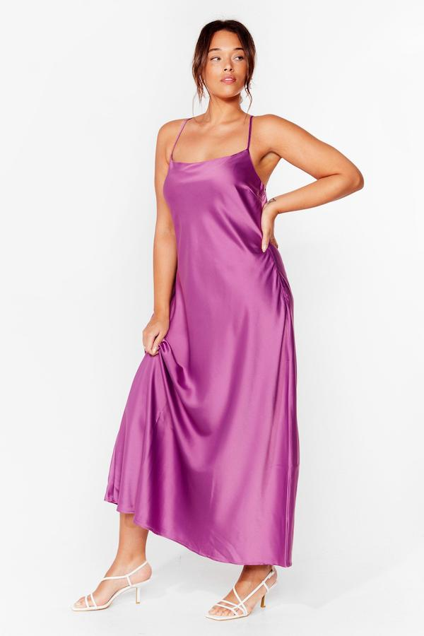 Missguided slip dress