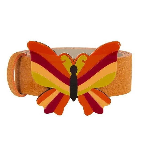 Butterfly belt, £69, Belt Be at Wolf & Badger
