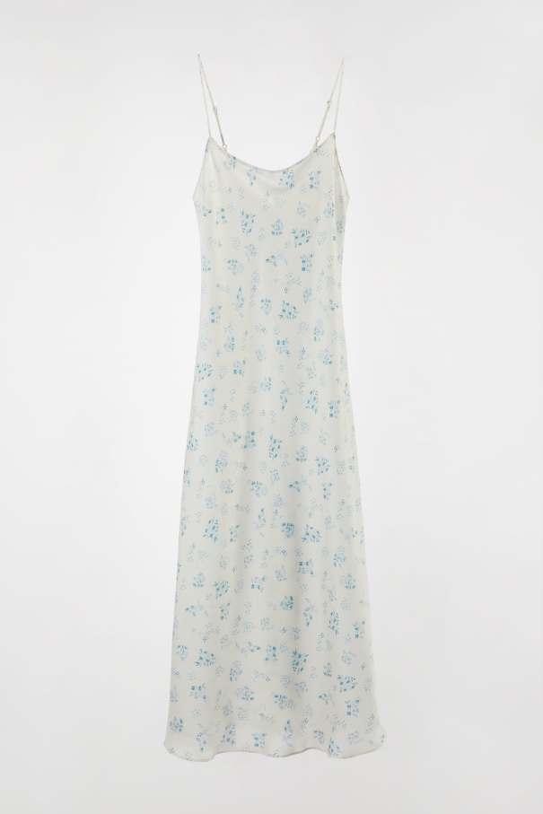 Printed camisole Dress, £45.99, Zara