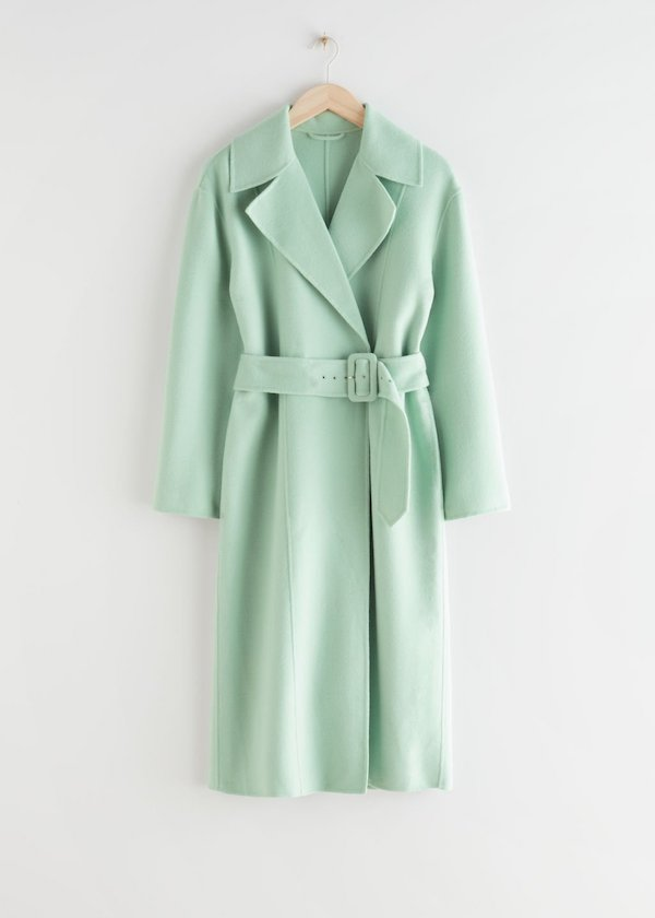 & Other Stories Relaxed Belted Coat