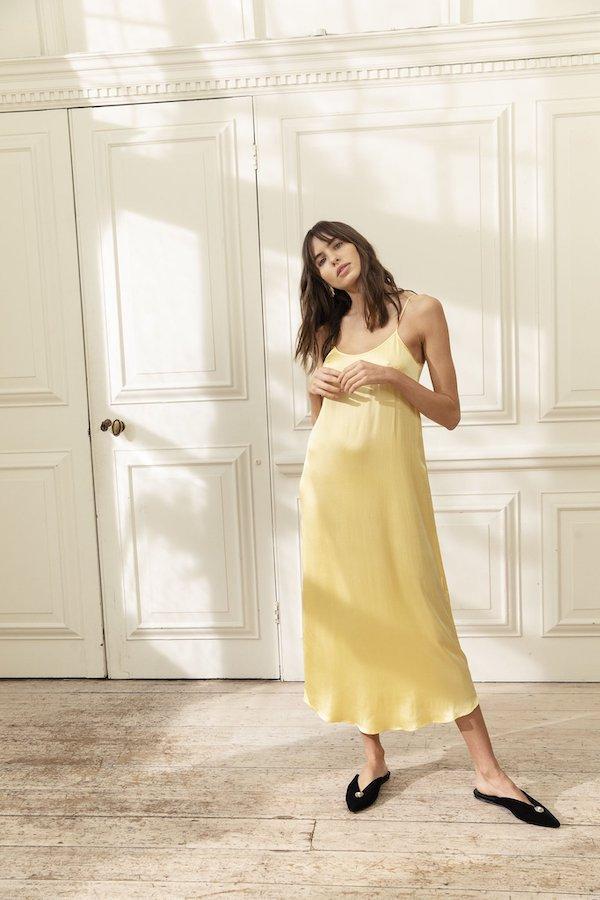 Sunshine Slip Dress Yolke