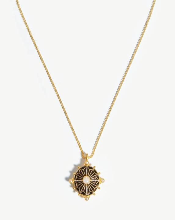 Harris Reed Ornate Locket Necklace