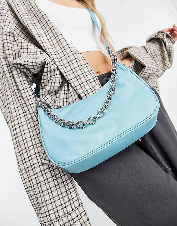 Weekday Chain Recycled Shoulder Bag