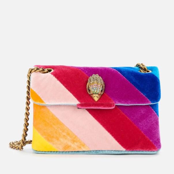 Kurt Geiger London Women's Velvet Mini Kensington Bag