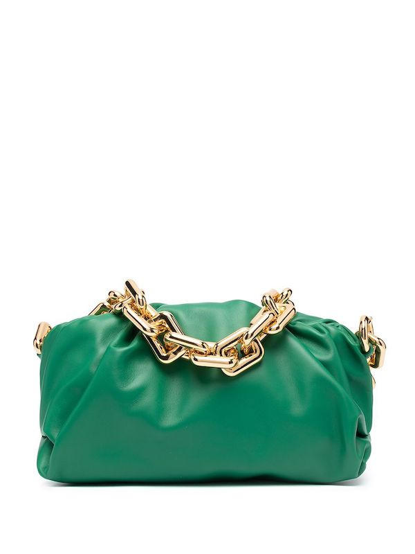 The Chain Pouch Shoulder Bag Bottega Veneta at Farfetch