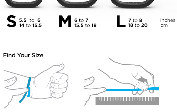 Jawbone Up Guide Tracker Fitness Sizing