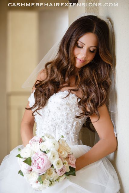 Cashmere Hair Wedding Hairstyle Cashmere Hair Clip In