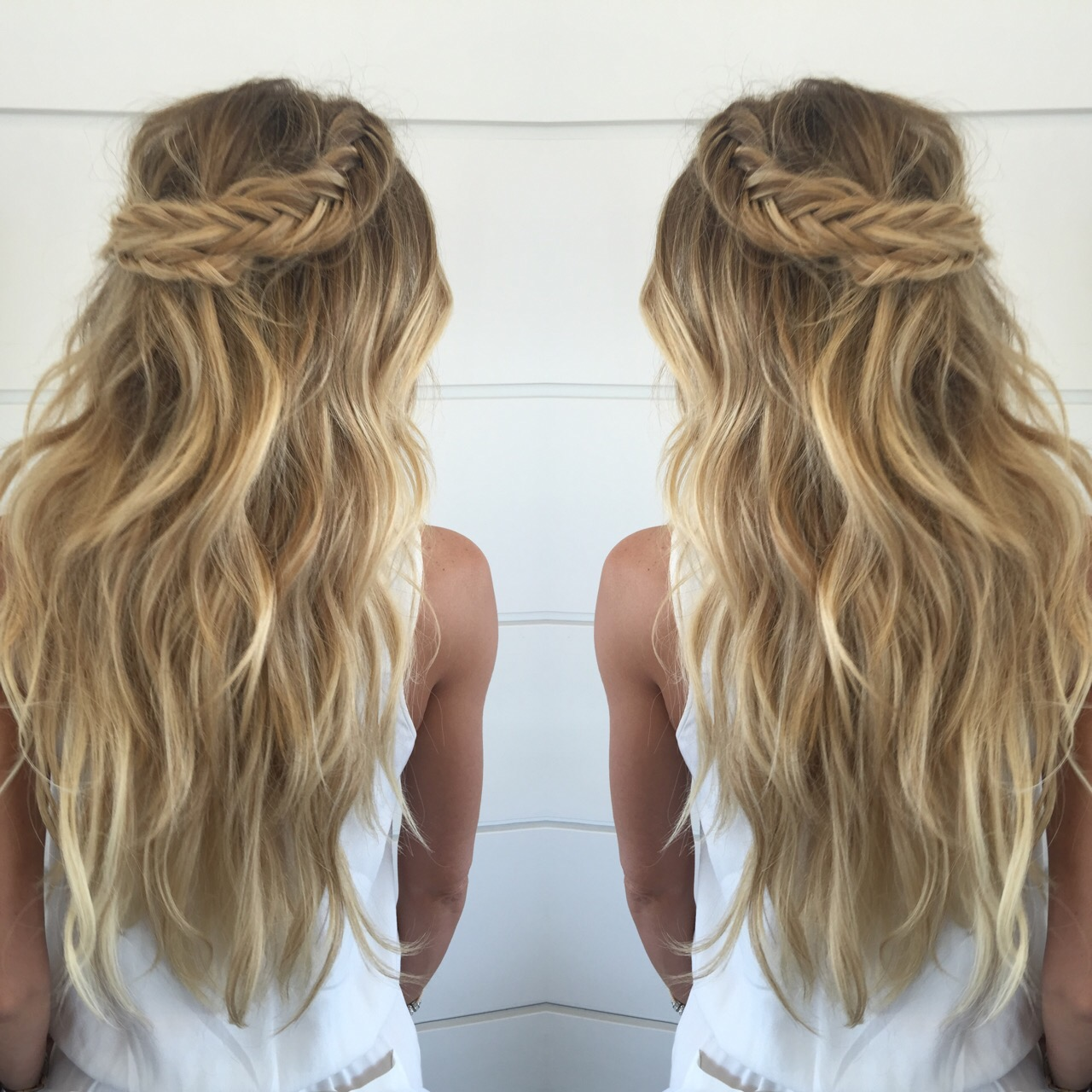 Stunning Braids with Cashmere Hair
