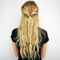 Twisted Fishtail Braid Tutorial | Cashmere Hair Extensions