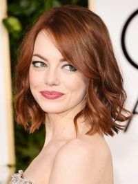 Emma-Stone-copper-hair-color-2017 | Cashmere Hair Clip In ...