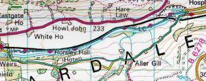 Hag Bridge Map