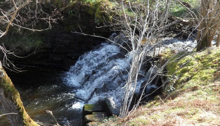 Waterfall on Horsley Burn, above Stanhope