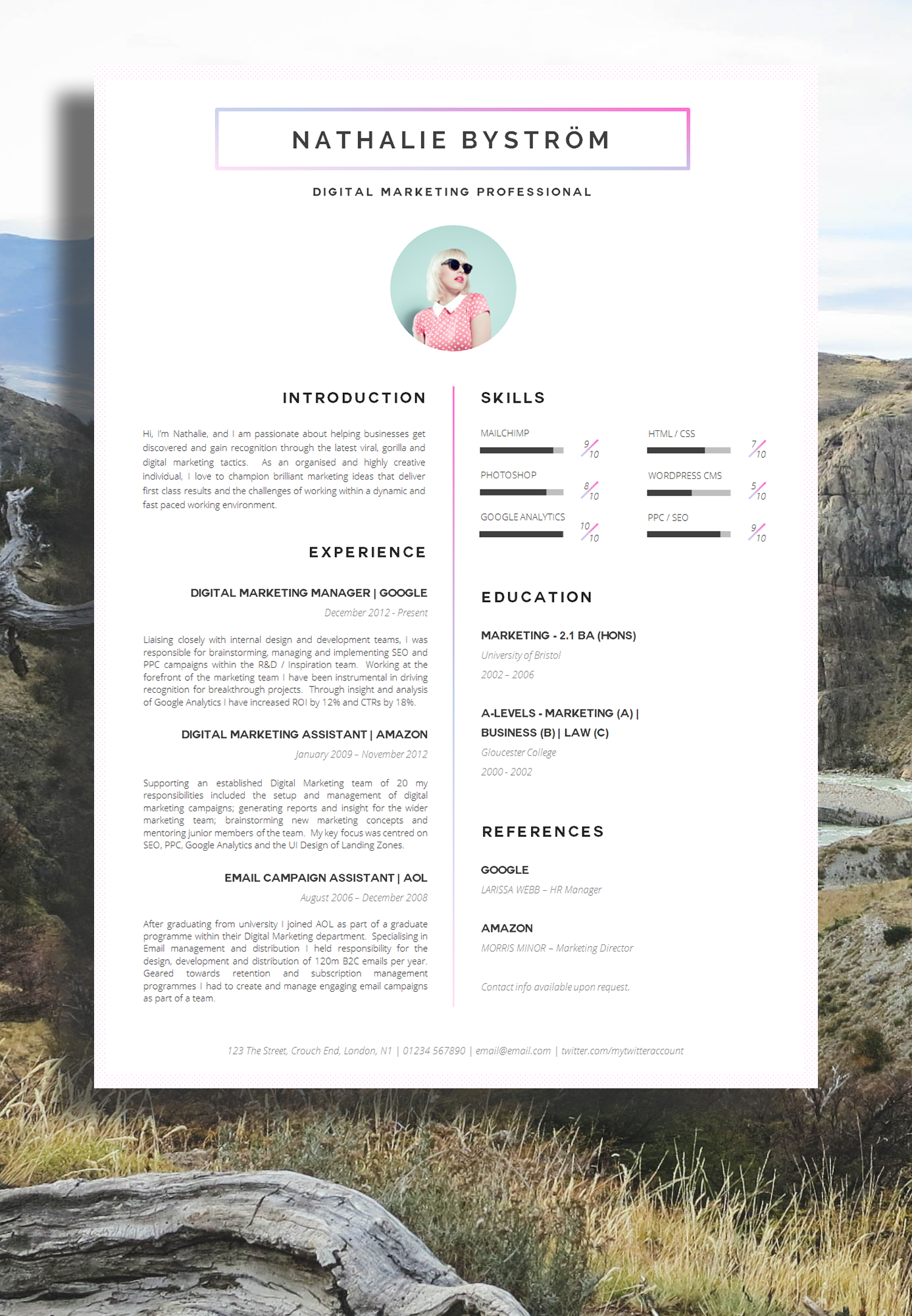 best cv designs download