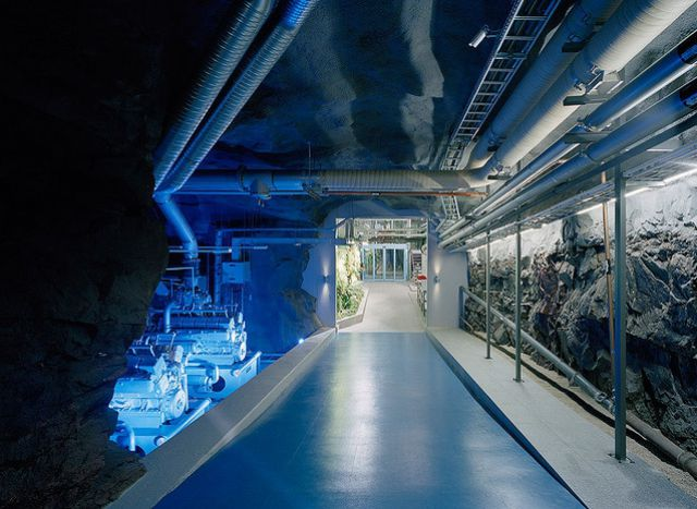 Pionen Nuclear Bunker Data Centre - Submarine Engine 2