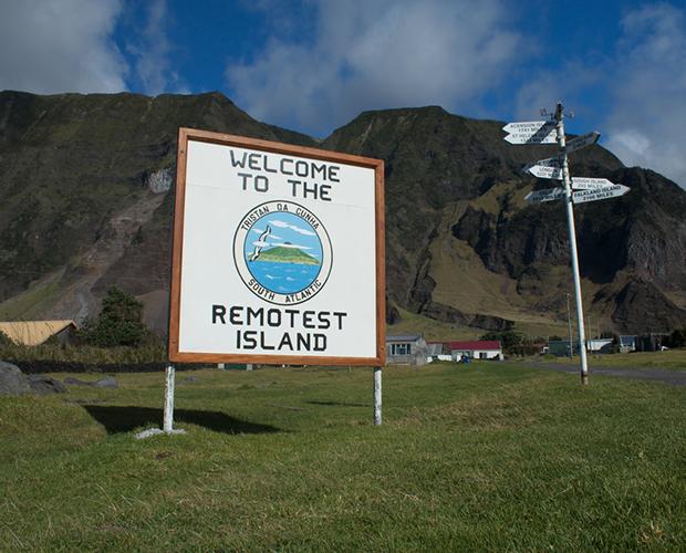 Tristan da Cunha Remotest Island