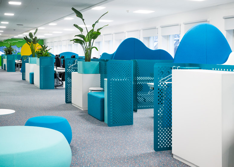 Candy Crush Offices - Work Area