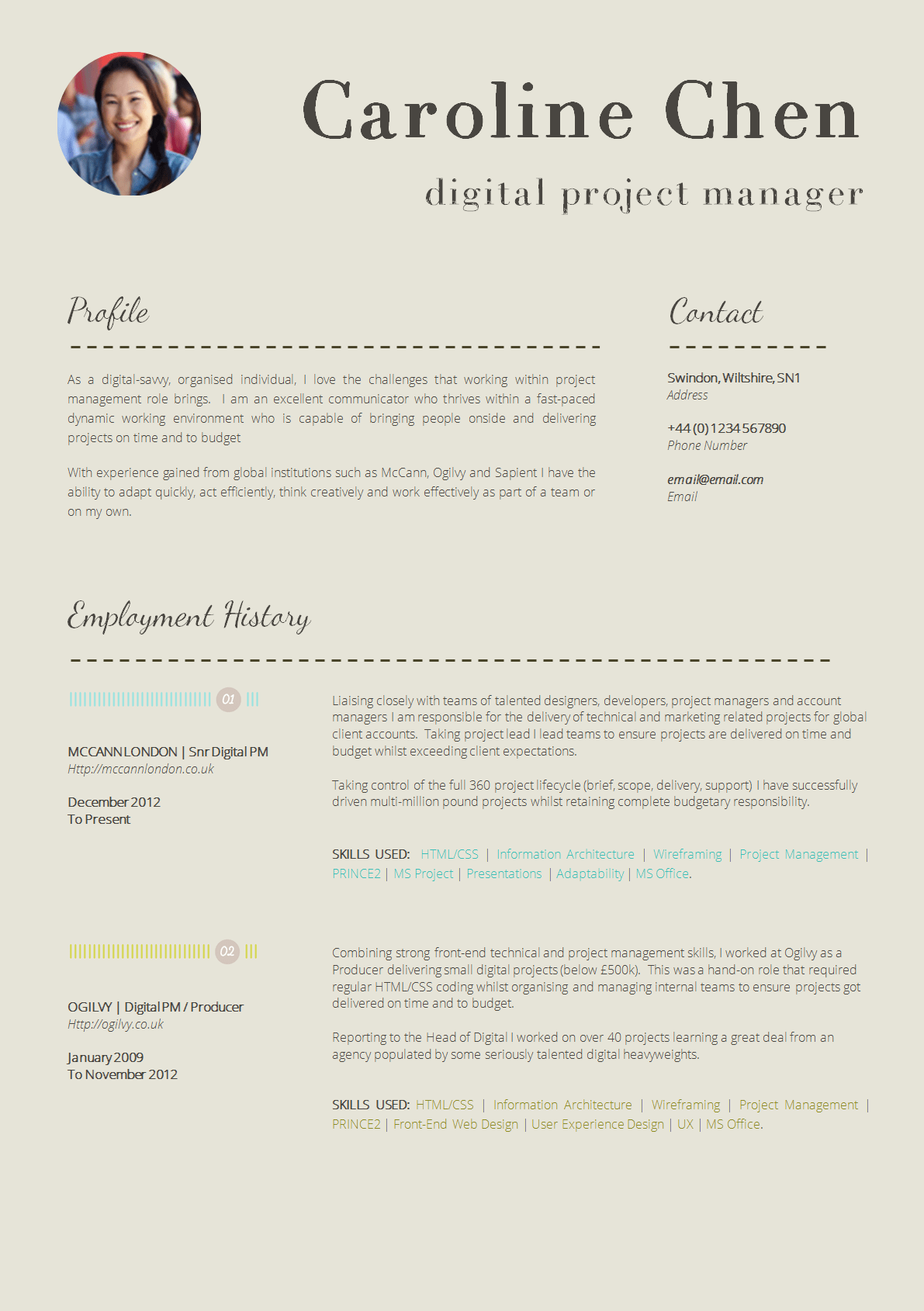 Resume Cv Template Download 13 Slick And Highly Professional Cv Templates Guru
