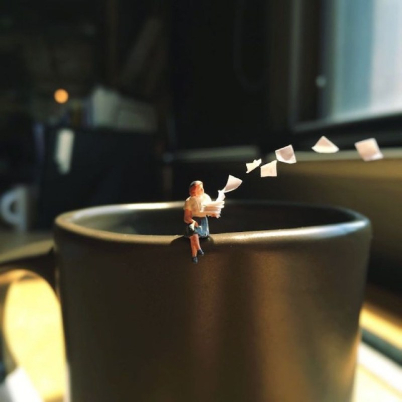 Office Life in Miniature 4