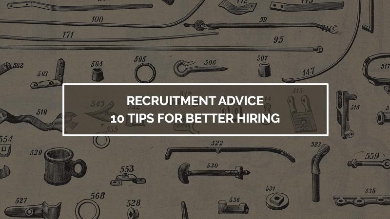Recruitment Advice