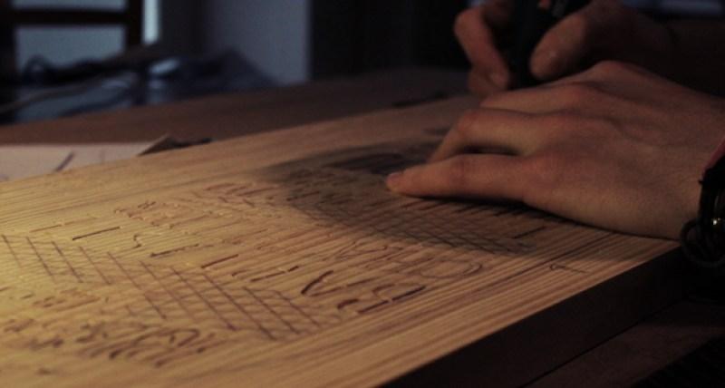 Carving a Skateboard CV