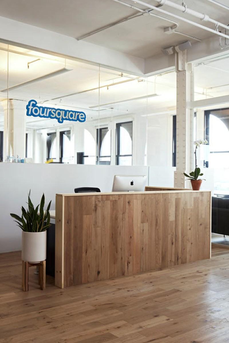 Foursquare New York Office - Reception
