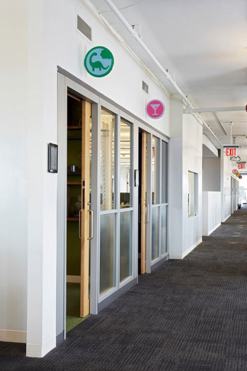 Foursquare New York Office - Rooms With Badges