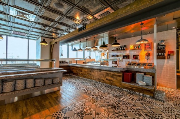 Google Tel Aviv Office Cafe