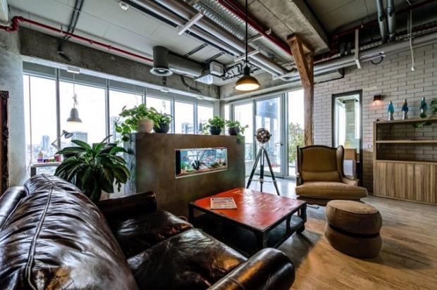 Google Tel Aviv Office Lounge