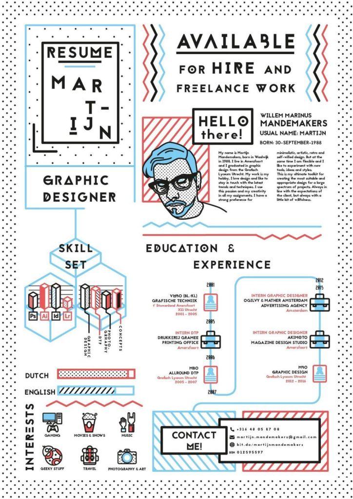 Creative CV Example