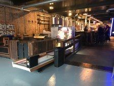 Enjoy more than just food and drink at Platform, with outdoor social areas and arcade bowling available.
